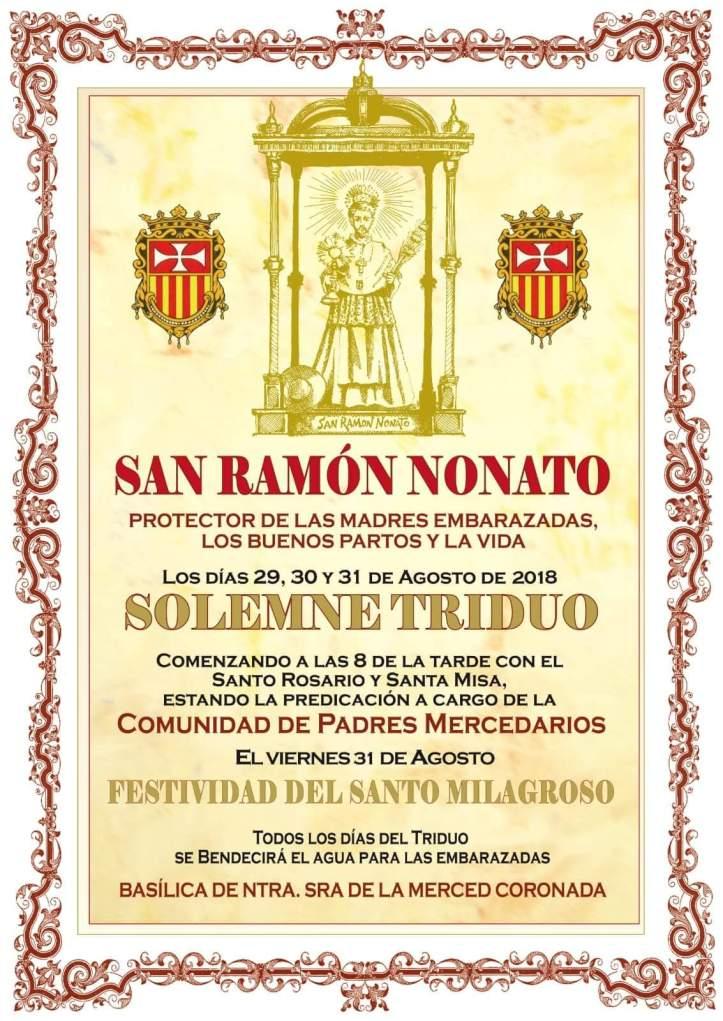 Triduo San Ramón Nonato